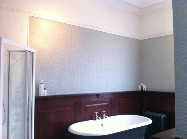 Villa Louis Lincrusta wallcovering wallpaper