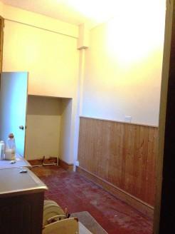 Utility room before work