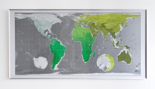 Future Mapping Company's world map
