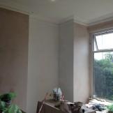 Sealing the plaster