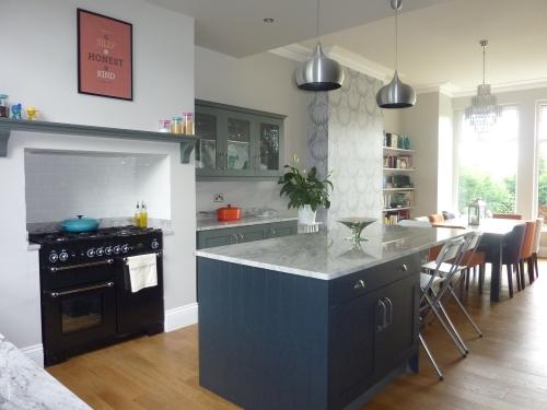 Kitchen diner renovation