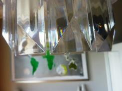 Perspex chandeleier