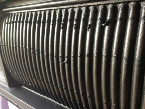 Period cast iron fireplace black grate polish