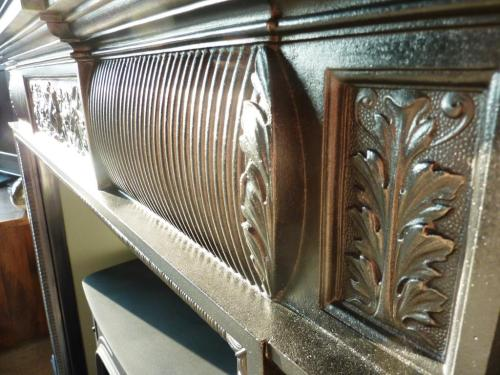 Edwardian cast iron fireplace restoration