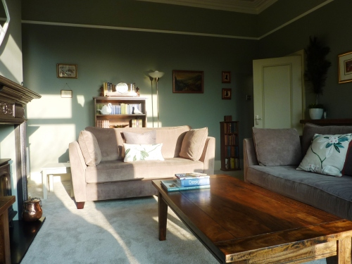 Farrow and ball lounge edwardian period