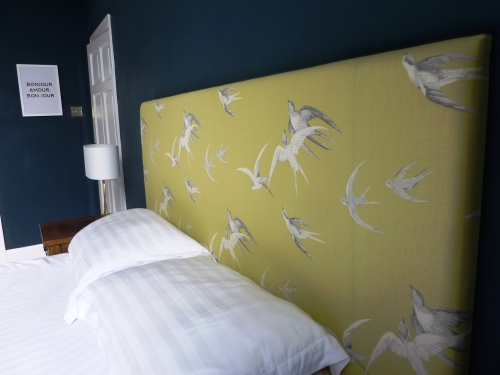 Sanderson swallows headboard