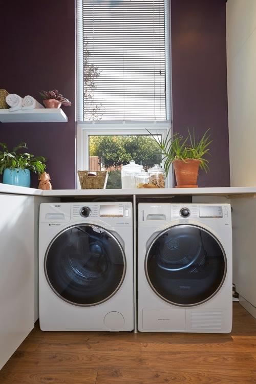 Samsung ecobubble washing machine and dryer