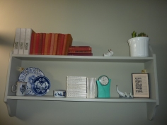Trinket shelves