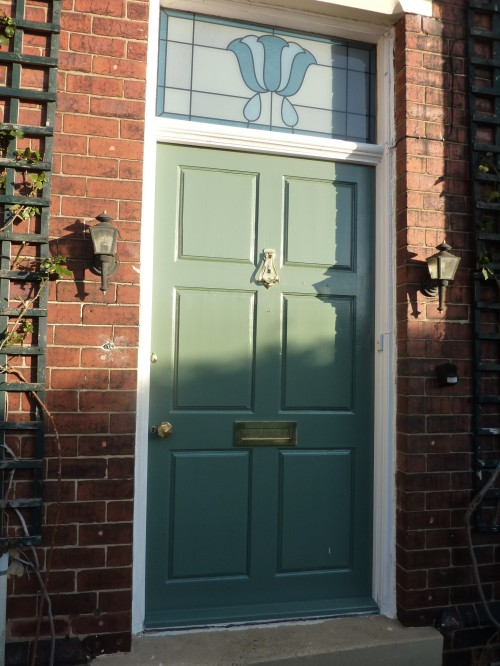Green Smoke front door